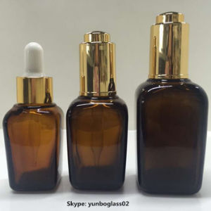 15ml 30ml 50ml Rectangle Shape Glass Essential Oil Dropper Bottle pictures & photos