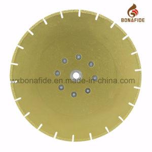 Vacuum Brazed Diamond Blade Segment U Solt with Flange pictures & photos