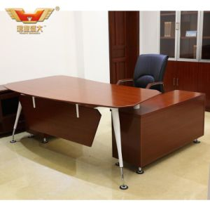 Popular Steel Leg L Shape Modern Office Desk pictures & photos