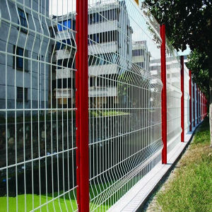 PVC-Coated Wrie Mesh Fence (YND-PC-01) pictures & photos