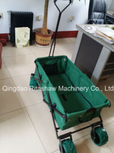 Utility Collapsible Folding Outdoor Wagon Sports Cart Gardening pictures & photos