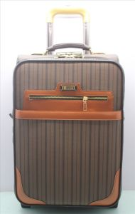 2015 New Style PU Trolley Case pictures & photos