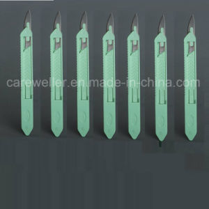 Safety Surgical Blade / Safety Surgical Scalpel with Handle pictures & photos