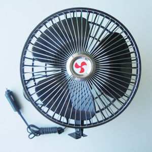 The Metal Front Plastic Back 6 Inch Car Fan (WIN-117) pictures & photos