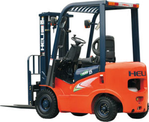 3-3.5t AC Four-Wheel Electric Counterbalaned Forklift Trucks pictures & photos