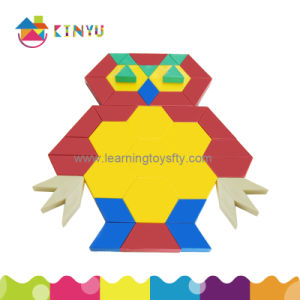 Wholesale New Popular Plastic Children Block Triange Puzzle Toy pictures & photos