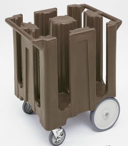 Hotel Adjustable Dish Dolly Storage Cart pictures & photos