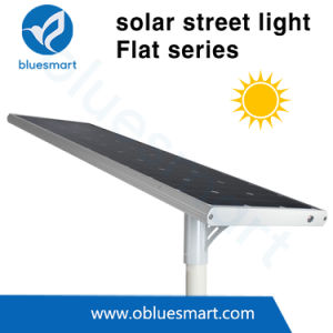 Bluesmart 100W/120W All in One Solar Products LED Garden Lighting Outdoor Street Lamp with Motion Sensor pictures & photos