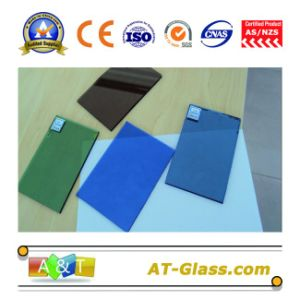 4mm, 5mm, 6mm, 8mm, 10mm Reflective Float Glass/Coated Glass/Tinted Glass/Used for Curtain Wall pictures & photos