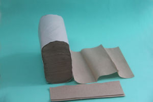 4000sheets Standard Recycle Brown Paper Towel pictures & photos