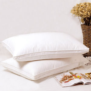 100% White Polyester Fiber Pillow pictures & photos