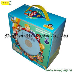 Electronic Display Packaging Paper / Color Printing/ Handle Gift Box (B&C-I009) pictures & photos
