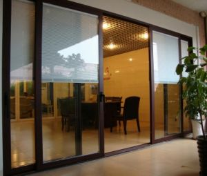 2015 New Design Aluminium Sliding Door with High Quality and Good Price