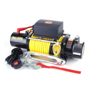 Synthetic Rope Winch 10000lb pictures & photos