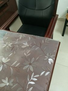 PVC Table Clothes with Embossing2 pictures & photos