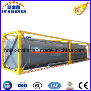 20FT 40FT Bulk Cement/Flour/Coal/Coom/Slag/Coal Ash Tank Container for Sale pictures & photos