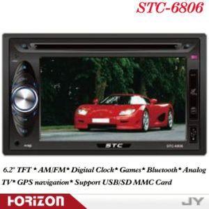 Car DVD Player STC-6806 Car DVD Players, Double DIN DVD Car Stereo, DVD Automotivo COM GPS