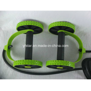 Double Ab Power Roller Fitness Abdominal Exercises Equipment Ab Wheel pictures & photos