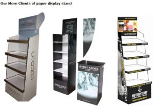 Big Paper Cardboard Stands for Promotions pictures & photos