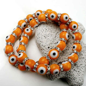 2017 New Style Eye Shape Beaded Bracelet pictures & photos