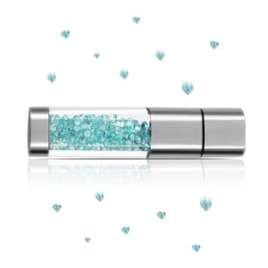 Techkey Jewelry Crystal USB Flash Drive for Girls pictures & photos