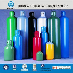 Argon High Pressure Seamless Steel Gas Cylinder pictures & photos