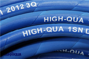 Oil Resistance High Pressure Hydraulic Hose En853 1sn / SAE R1at pictures & photos