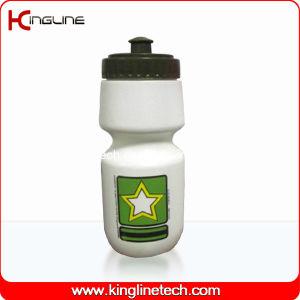 Plastic Sport Water Bottle, Plastic Sport Bottle, 500ml Plastic Drink Bottle (KL-6504) pictures & photos