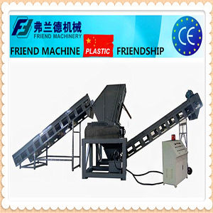 High Eficiency Hard Plastic Rubber Wood Shredder Double Shaft Shredder pictures & photos