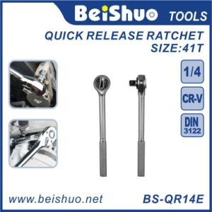 Full Polish Long Handle Standard Quick Release Ratchet Wrenches pictures & photos