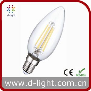 Without Ring 4W Filament E14 C35 LED Bulb pictures & photos