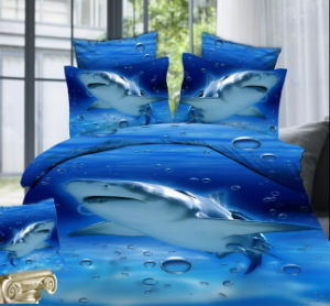 Top Top Sale Factory Wholesale 3D Screen Printing Bed Sheets pictures & photos