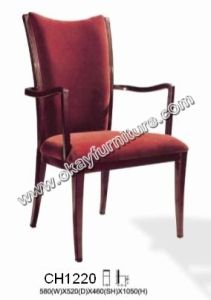 Hotel Dining Chairs/Stackable Arm Chairs CH1220