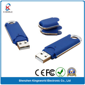 Plastic Blue USB Flash Disk 2GB