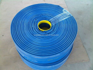 """3/4""""-14"""" Agriculture PVC Layflat Water Discharge Hose pictures & photos"""