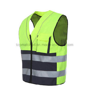 En 20471 Hi-Vis Reflective Running Vest for Outdoor Sports pictures & photos