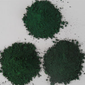 Factory Iron Oxide Green Powder pictures & photos