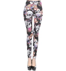 2017 Wholesale Sexy Human Skeleton Printing Leggings for Women pictures & photos