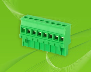 PCB Pluggable Terminal Block with Height of 26.2mm pictures & photos