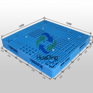 Transport Steel Reinforced Plastic Pallet Manufacturing with HDPE From China pictures & photos