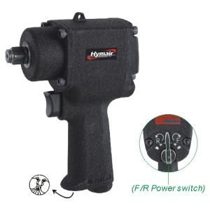 Hymair 1/2′′ Mini Air Impact Wrench (Twin Hammer) (NST-500M) pictures & photos