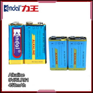 6lr61 Alkaline Batteries Dry Battery, 9V Battery Alkaline Dry Cell Batteries pictures & photos