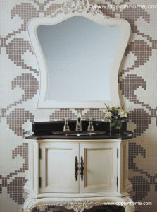 Lacquer Bathroom Cabinet /Bathroom Cabinets and Mirrors (OP11-002-97)