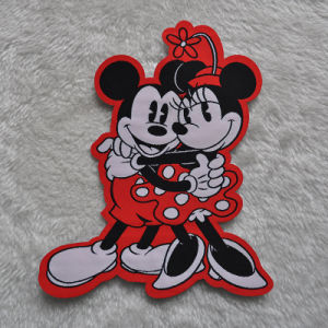 Die Cut Woven Patch/Label with Custom Design pictures & photos