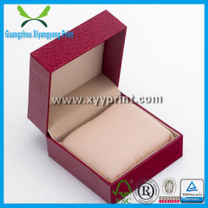 Custom Hot Sale Wooden Watch Box with Cotton Insert pictures & photos