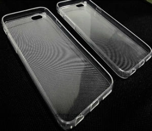 Wholesale Mobile Accessroies 0.3mm Transparent TPU Case for iPhone 6/6s/6plus Silicone Cell Phone Case pictures & photos