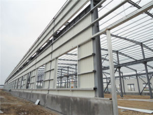 Workshop/Warehouse Light /Heavy Steel Structure with SGS Certification / ISO (ZY255) pictures & photos