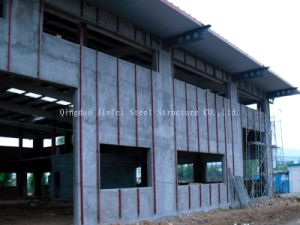 Prefabricated Light Steel Frame for Exhibition Hall and Automobile 4s Stores pictures & photos