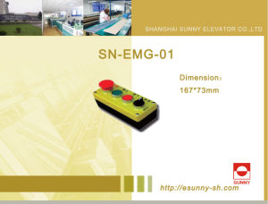 Control Cabinet Maintenance Box for Elevator (SN-EMG-01) pictures & photos