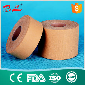 Skin Color Cotton Rigid Sport Strapping Runner Tape Sport Wrap Tape pictures & photos